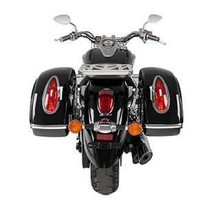 Sacoches rigides + supports latéraux Honda Shadow VT 125 C 99-09