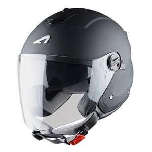 Astone Helmets Casque Jet Mini Jet S, Noir Mat, XL