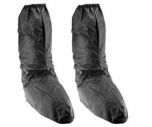 Couvre-bottes imperméables pour moto Noir L/XL/XXL