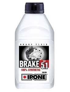 IPONE S1901A Liquide de Frein Dot 5.1 100 Pourcent Synthèse Bidon, 500 ml