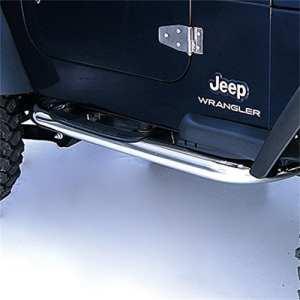 Jeep Marche pieds inox Wrangler TJ 1997-2006