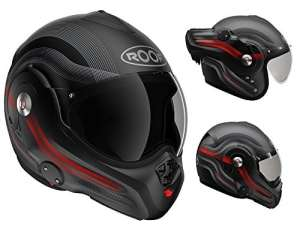 Roof Casque Desmo, DE Rationnaliser Rouge, taille L