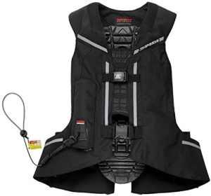 Spidi Airbag moto Full DPS VEST avec mécanisme d'activation Câble en keramide M noir