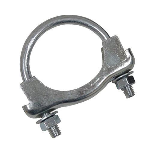 AERZETIX: Collier de serrage fixation pour tuyau pot silencieux d'échappement 54mm diamètre