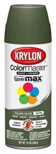 Division Krylon 53522 16 Oz italienne Olive Satin Touch Spray Paint – Lot de 6