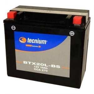 KYMCO 500-700 MXU-UXV/ARCTIC CAT XC 450 I/TGB 400 ADVENGER ET 500-525 BLADE-BATTERIE TECNIUM BTX20L-BS-329801