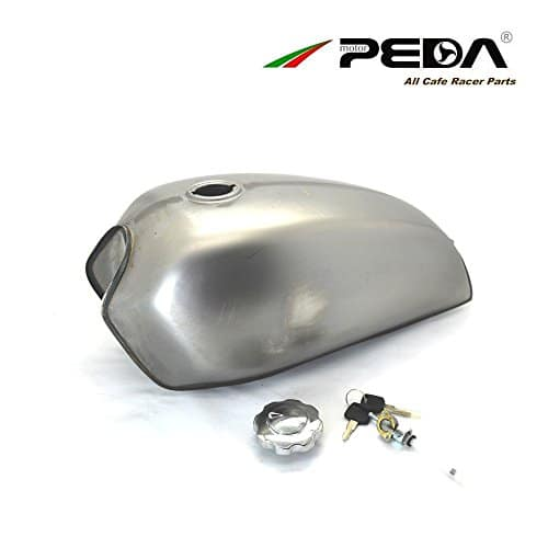 PEDA Café Racer Réservoir 8L Moto Carburant Gaz Peut Retro Réservoirs D'essence Pour HONDA CG JH70