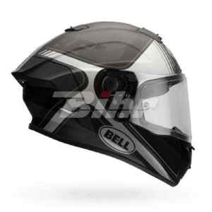 7069610 – Bell Race Star Tracer Motorcycle Helmet M Matte Black Grey