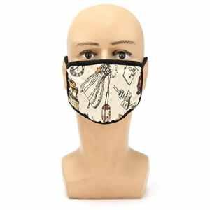 Alamor Masque Anti-Poussière De Moto À Froid Imprimé Contre Les Masques Mâles Et Femelles