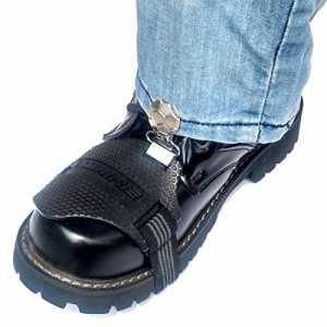 BEISITE Protection de Chaussure pour la Moto – Anti-Abrasion Couvre Protecteurs de Chaussure Bottes pour Levier de Vitesses Moto – Protège Chaussures Moto
