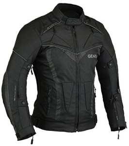 BorneAir Veste de Protection Moto étanche avec des évents, S