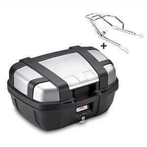 Top Case Set Honda CB 1100 13-14 Givi Monokey TRK52N noir avec chrome support