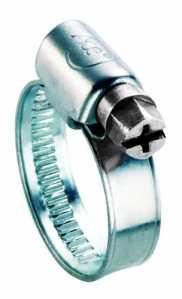 ACE 9mm 12–22mm Tuyau en acier inoxydable clip