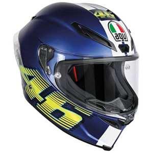 AGV Helmets Corsa R E2205 Top Plk,V46 Matt Bleu,XXL