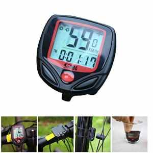 Dxlta Imperméable Ordinateur de vélo Vélo Sport Vélo Odomètre Numérique LCD Ordinateur Compteur de vitesse Chronomètre