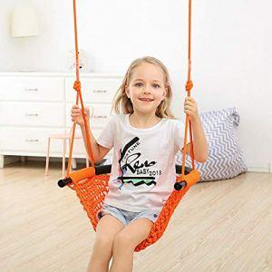 ENFANTS 'balançoire Filet balançoire d'intérieur et d'extérieur de la plate-forme à suspendre Arbre Swing pour cour ou Terrain de jeu