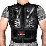 LIDAUTO Veste de Protection pour Motocross Moto Gilet de Garde du Corps Colonne vertébrale,XXL