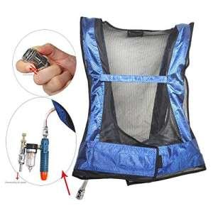 refroidissement Gilet Vortex Tube Air Conditioner Gilet Ice refroidissement à air comprimé Vêtements dans un environnement chaud pour soudure