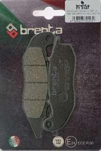 Brenta Plaquettes de Frein organiques moto pour Honda ANF 125Innova, CBF 125, cBR 125r
