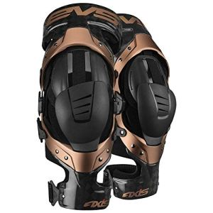 EVS Genouilleres Axis Pro Black Copper-L
