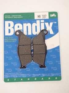 Plaquette de frein Yamaha Xmax pour 250 cc de 2005 a 2009 MA337 etat Neuf Paire de plaquette de frein Bendix. Livré conforme à la photo