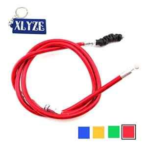 Xlyze Câble d'embrayage moto pour 50cc 70cc 90cc 110cc 125cc 140cc 150cc 160cc rouge