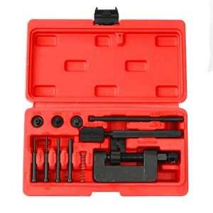 FreeTec Jeu de 13 outils de tronçonnage pour moto, chaînes de tronçonneuse, etc.