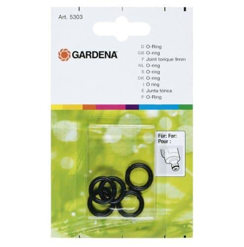 Gardena Joint Torique Bague d'Étanchéité pour Raccord sur les Pulvérisateurs et Gicleurs (5303-20)