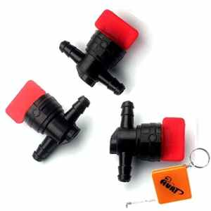 houri Lot de 3robinet d'essence pour roller F-43104universel pour 6mm tuyau de carburant