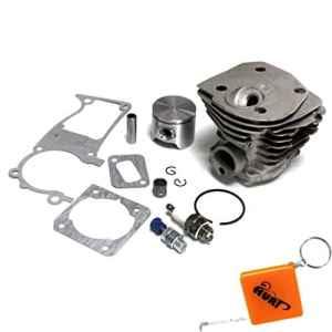 HURI 44mm Cylindre Piston Kit Roulements à aiguilles Joint pour Husqvarna 350 346XP 351 353 Remplacement 503869971, 503894401