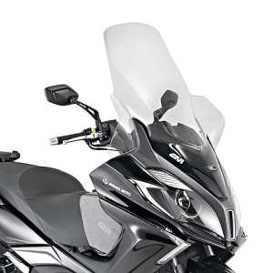 Pare-brise moto Kymco New Downtown 350i 15-18 Givi transparent