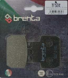 Brenta Plaquettes de Frein organiques moto pour piaggio mP3125, X8125, X9125, MP3250