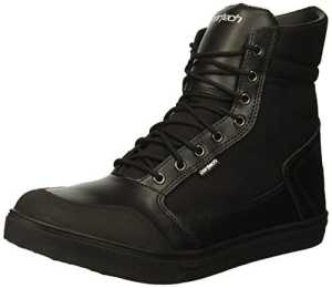 Cortech Vice WP pour homme d'équitation On-road Moto Chaussures–Noir/Noir