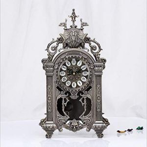 LIJIANGUO Exquise Et Pratique, Horloge Élégante Et Luxueuse, Artisanat Creux