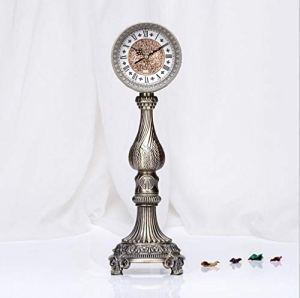 LIJIANGUO Horloge Stéréo en Métal