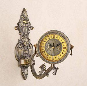 LIJIANGUO Maître Artisanat Métal Stéréo Horloge Personnalité Mode Luxe Horloge