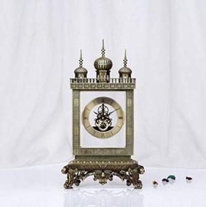 LIJIANGUO Metal 3D Relief Personnalité Art Salon Mode Luxe Horloge