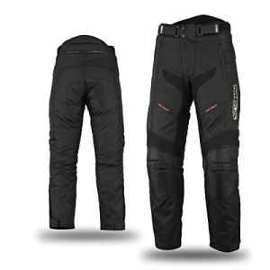 Mbsmoto MP-51 Pantalon de moto en textile Cordura étanche et coupe-vent