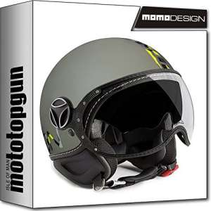 Momo-Design Casque Moto Fighter Evo sauge Camouflage M