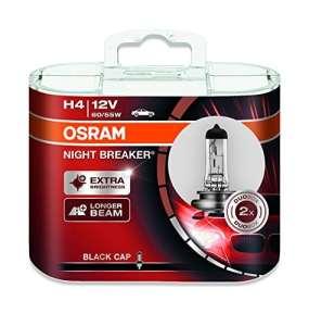 OSRAM 64193NB-HC NIGHT BREAKER H4 halogène, ampoules de phare, 12V, 2 ampoules
