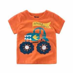 Bébé Garçon Vêtements, Hehem Infant bébé garçon t-shirts d'impression de dessin animé TOPS tenues Vêtements (2–7ans), 1-2 year, Orange, 1