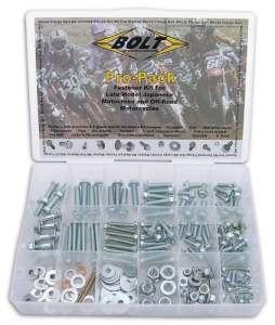 Bolt Motorcycle Hardware Boulon Moto de matériel (2004-pp) japonais Off-road métrique kit de boulon universel