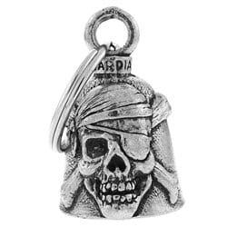 Clochette skull pirate porte-bonheur moto Guardian Bell