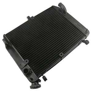 Gzyf Cooler Radiateur pour Yamaha YZF R120022003EN Alliage d'aluminium Noir