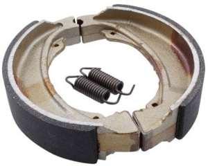 Mâchoires de frein TRW MCS821 140x30mm TYP 821 HONDA XLV 750 R RD01 84-88 (derrière)