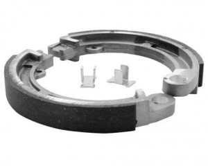 Mâchoires de frein TRW MCS981 125x17mm TYP 981 Piaggio / Vespa PK 50 S, XL Vespa 82-90 (avant)