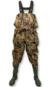 Michigan – Waders de pêche avec ceinture – nylon/imperméable – style camouflage – EU 42