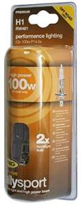 RING RW481 2 Ampoules H1 12V 100W Rally