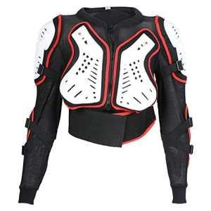 Veste de protection de moto – enfant – 4/6/8/10 ans – 4 ans – tour de poitrine 61 cm