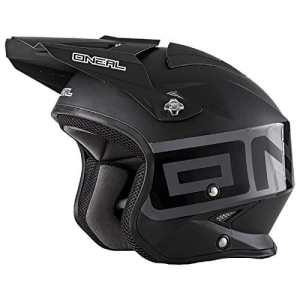0806-102 – Oneal Slat Solid Trials Helmet S Black
